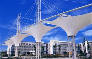 自贡泸州宜宾膜结构工程公司景观看台停车棚