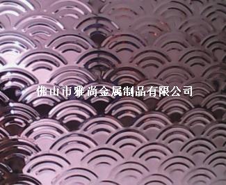 彩色不锈钢压花板