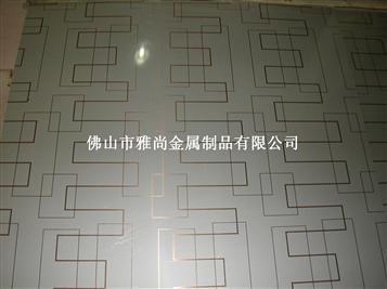 彩色不锈钢砂铜花纹卫浴面板