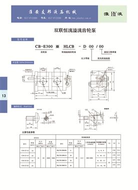 CB-E300*HLCB-D00/00