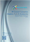 RF Coaxial Connectors, Adaptors, Tools & Accessories Edition2017