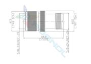UHF Plug (Male) to UHF Jack (Female) Adaptor