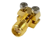 SMA Straight PCB End Launch Jack (Female) | Coaxial End