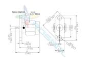 SMA Straight Panel Plug (Male) 2 Hole Flange | Flat End | Epoxy Captived