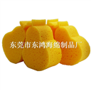 东鸿爆款儿童沐浴清洁水果形状海绵制品厂家直销