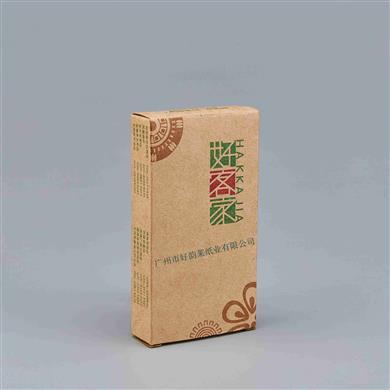 本色煙盒式紙巾