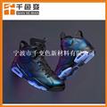供應變色龍 角度變色 角度不同顏色不同 光學變色鞋材適用