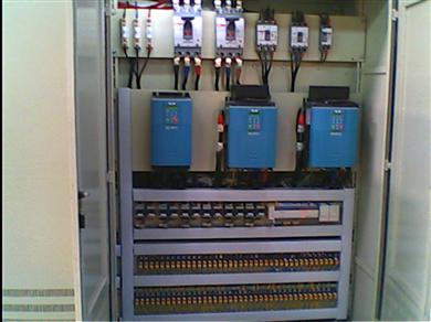 纵剪分条机组强电控制柜
