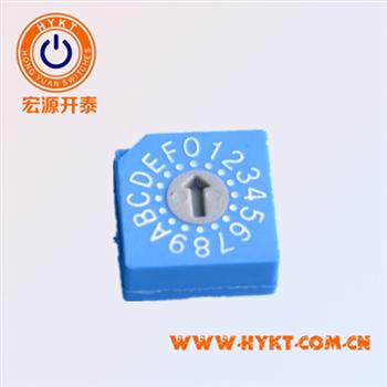 批发台湾进口旋转编码开关RS30014 0-9共10位代码
