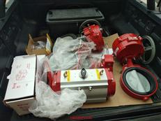 美國博雷S93-2104氣動執行器,進口單作用執行器