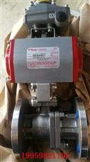 美国博雷F15气动法兰球阀,不锈钢法兰球阀,进口不锈钢气动球阀