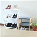 鞋架简易实木多层家用鞋柜多功能