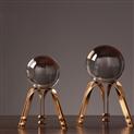 欧式新古典水晶球装饰品