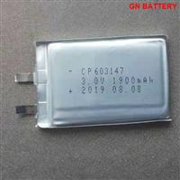 鋰錳軟包電池CP603145
