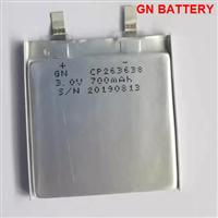 鋰錳軟包電池CP263638