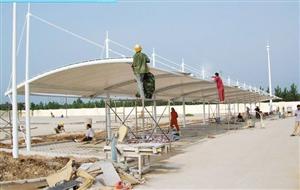 膜结构工程|停车棚安装|膜结构停车棚制作|停车棚售后维护