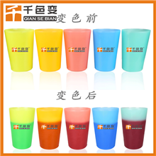 食品级低温冷变杯子注塑温变粉 雪糕杯冷饮杯注塑冷变粉 变色粉