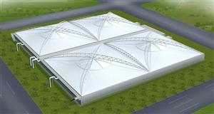 衡水膜结构车棚 膜结构厂家 污水池膜结构 充气膜结构价格