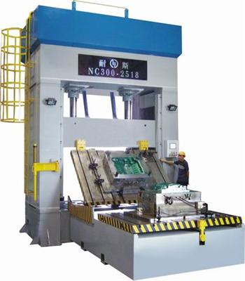 NC300-2518 die spotting machine