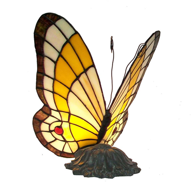 TLC00044 stained glass butterfly lamp tiffany butterfly table light memory lamp