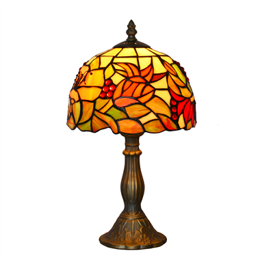 TL080003-8 inch stained glass table lamp decorative tiffany table light indoor lighting fixture anti