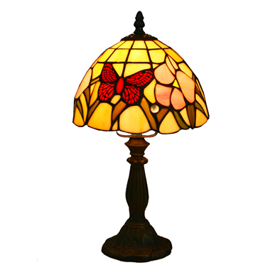 TL080005-butterfly lamp Table Lampes tiffany glass desk light