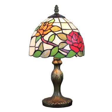 TL080009-8 inch tiffany floral table lamp stained glass table light decorative home decor