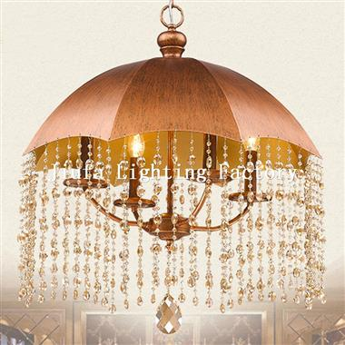 umbrella shape ceiling Pendant Lamp metal hanging lighting