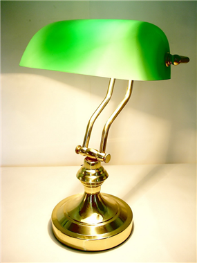 9 inch table lighting bank lamp BL090002