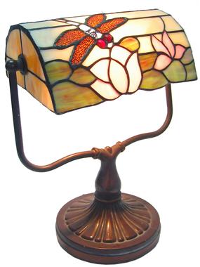 9 inch tiffany lighting bank lamp BL090004