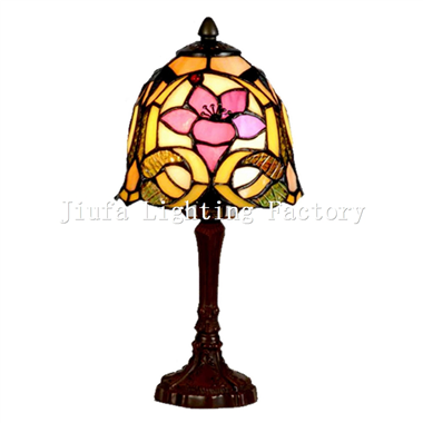 TL060013-flower tiffany accent lamp bedside table light