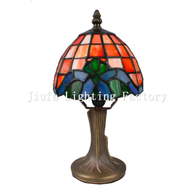 TL060005-tiffany mini lamp stained glass decorative table light