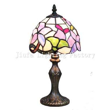 TL060007-flower tiffany mini table lamp