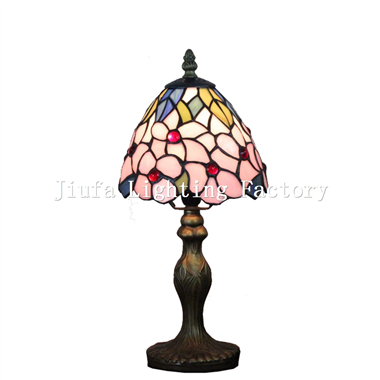 TL060008-tiffany style floral design table lamp