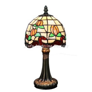 TL060010-tiffany style tulip table lamp