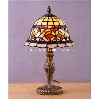 TL080014-tiffany desk lamp art stained glass
