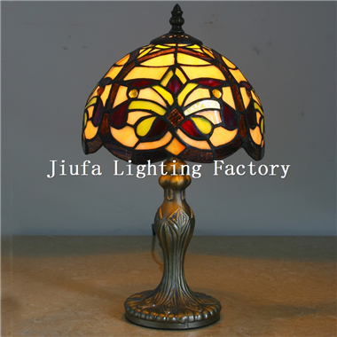TL080015-tiffany desk lamp stained glass