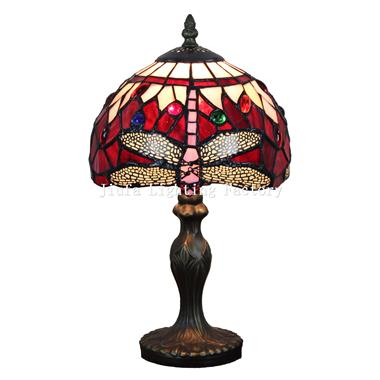TL080016-dragonfly tiffany glass lamp home decoration