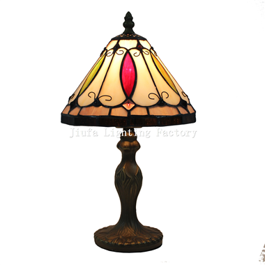 TL080019-modern tiffany lamp stained glass desk light