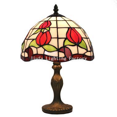 TL080020-flower tiffany light art glass
