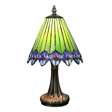 TL080022-peacock tiffany bedside lamps decorative lighting