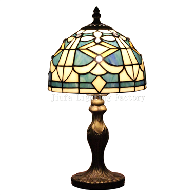 TL080027-tiffany study table lamp glass art home decoration