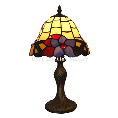 TL080031-stained glass designer table lamp