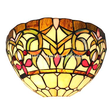 WL120011-tiffany style wall sconce