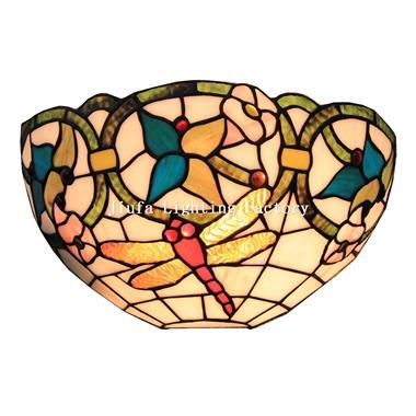WL120008-Tiffany Dragonfly Art Deco Wall Lights