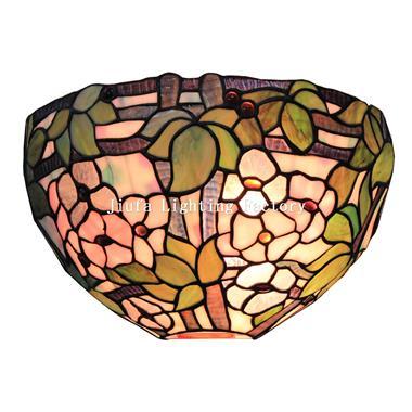 WL120005-Tiffany Peonie Wall light