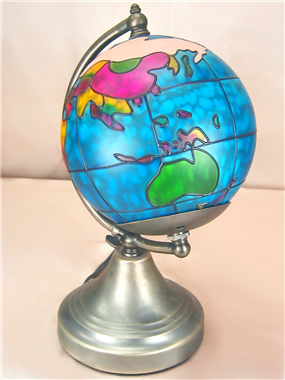 Globes lamp tiffany table lamp  lights for child