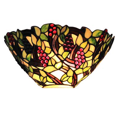 WL120019 12 inch Tiffany wall lighting