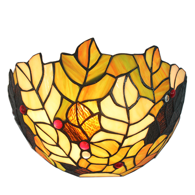 WL120034 12 inchTiffany wall sconce wall lights  stained glass art decor wall lamp jiufa factory