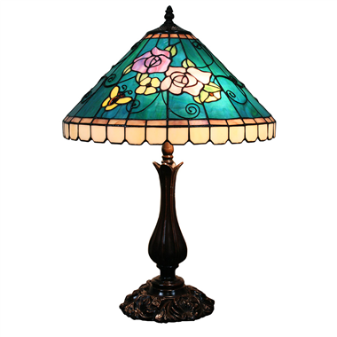 TL160042 16 inch tiffany table lamp table lights from Jiufa tiffany factory